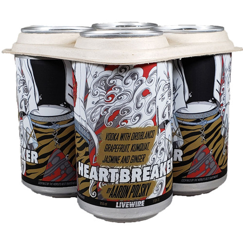 Livewire Heartbreaker Ready To Drink Cocktail 4-Pack