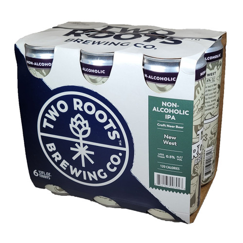 Two Roots New West Non-Alcoholic IPA 6-Pack Can