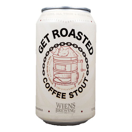 Wiens Get Roasted Coffee Stout Can