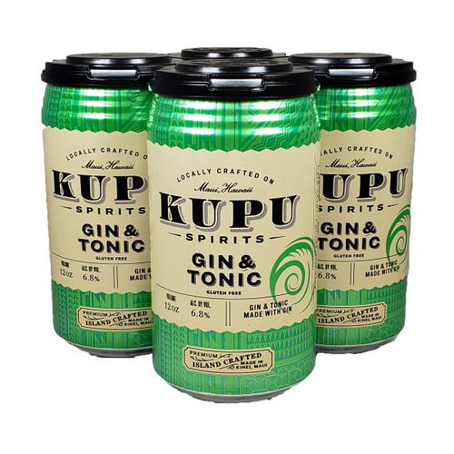 Kupu Spirits Gin & Tonic 4-Pack Can