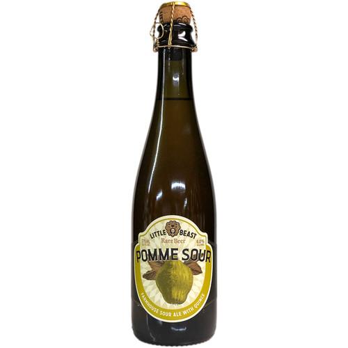 Little Beast Pomme Sour Farmhouse Sour Ale with Quince