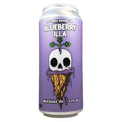 Full Circle Blueberry Illa Milkshake IPA Can