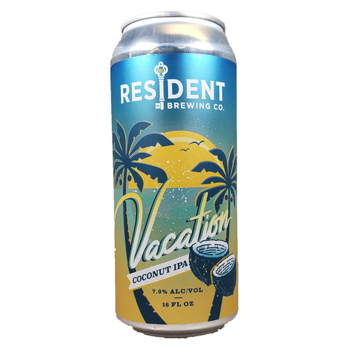 Resident Vacation Coconut IPA Can
