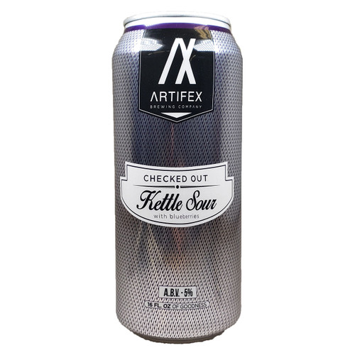 Artifex Checked Out Kettle Sour with Blueberries Can
