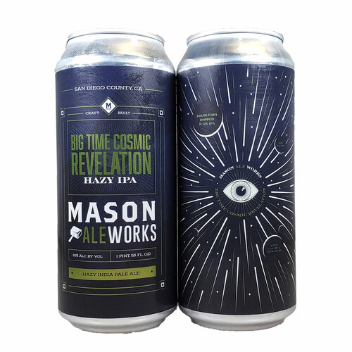 Mason Ale Works Big Time Cosmic Revelation Hazy IPA Can