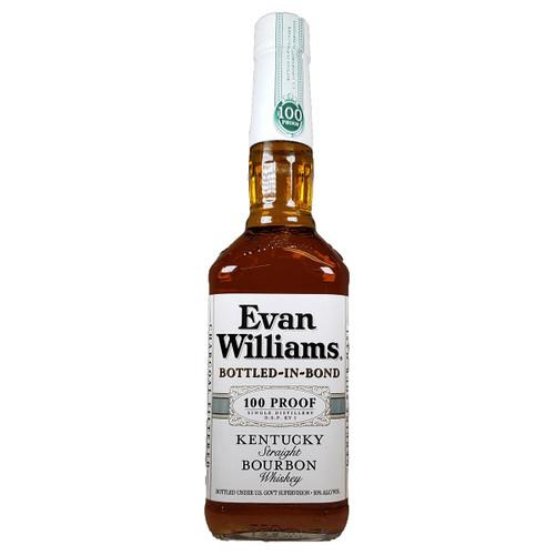 Evan Williams White Label Bottled In Bond Straight Bourbon