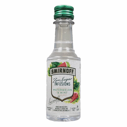 Smirnoff Zero Watermelon Mint Vodka 50ML