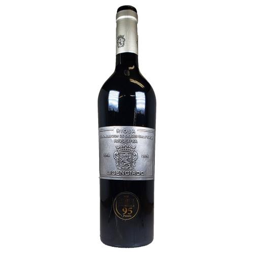 Burgo Viego 2016 Licenciado Rioja Reserva