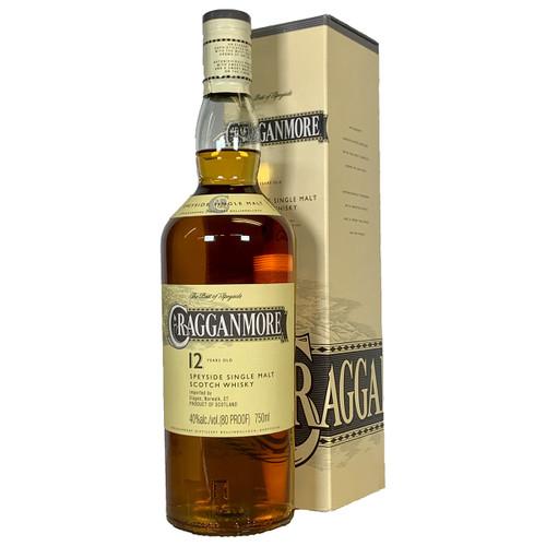 Cragganmore 12 Year Speyside Single Malt Scotch