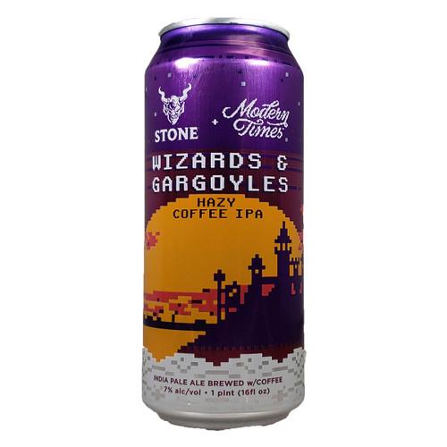 Stone / Modern Times Wizards & Gargoyles Hazy Coffee IPA Can