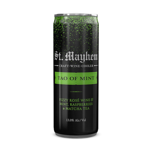 St. Mayhem Tao Of Mint Craft Red Wine Cooler 250ML Can
