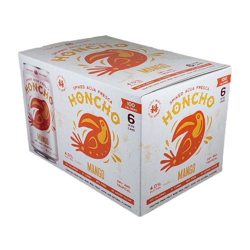 Honcho Spiked Agua Fresca Mango 6-Pack Can