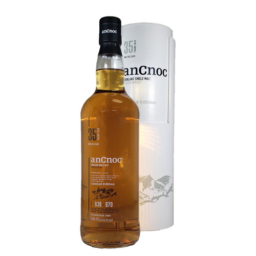 AnCnoc 35 Year Highland Single Malt Scotch Whiskey
