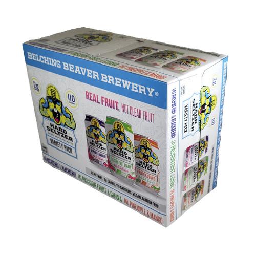 Belching Beaver Hard Seltzer Variety 12-Pack Can