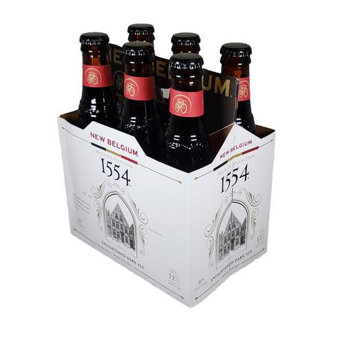 New Belgium 1554 Enlightened Dark Ale 6-Pack