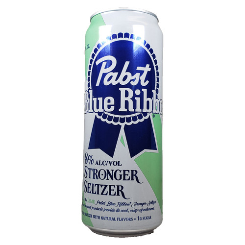Pabst Blue Ribbon Lime Stronger Seltzer Can