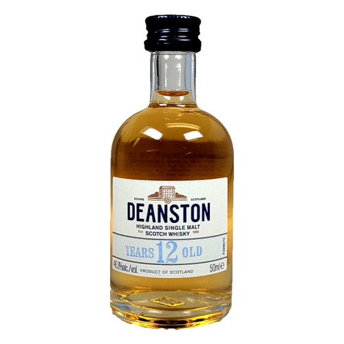 Deanston 12 Year Single Malt Highland Scotch Whisky 50ML