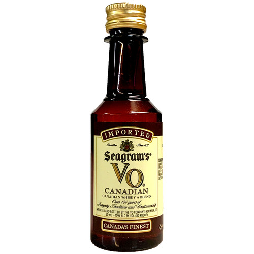 Seagrams VO Canadian Whisky 50ML