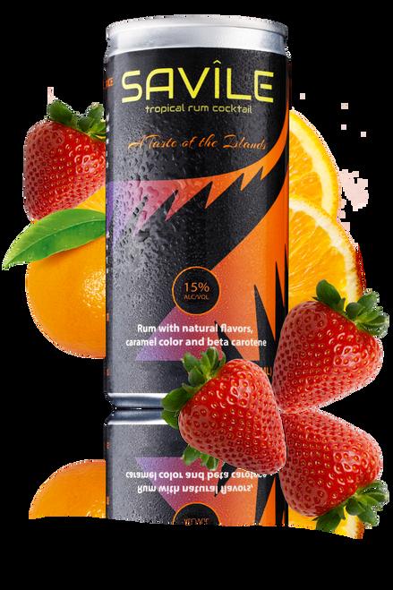 Savile Tropical Rum Cocktail 200ML