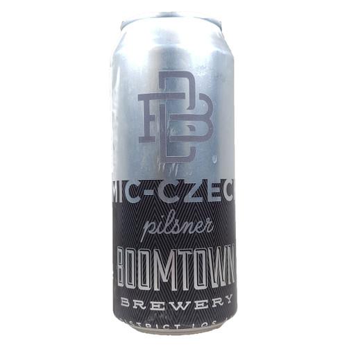 Boomtown Mic-Czech Pilsner Can
