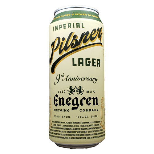 Enegren 9th Anniversary Imperial Pilsner Lager Can
