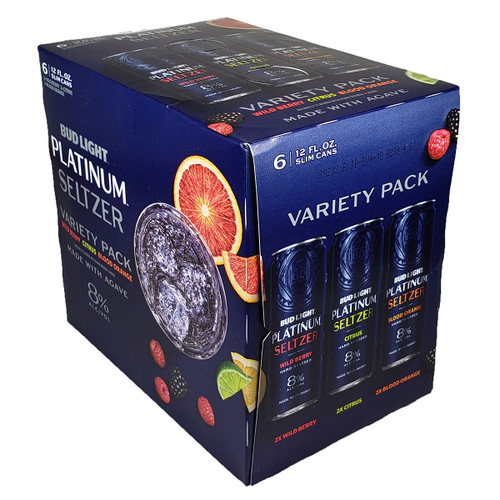 Bud Light Platinum Seltzer Variety 6-Pack Can