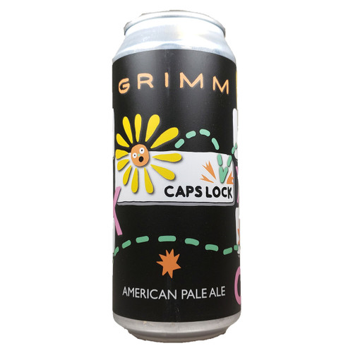 Grimm CAPSLOCK American Pale Ale Can