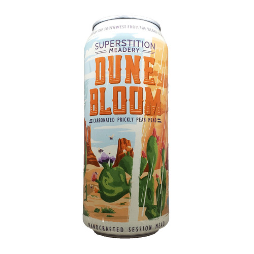 Superstition Dune Bloom Carbonated Prickly Pear Session Mead Can