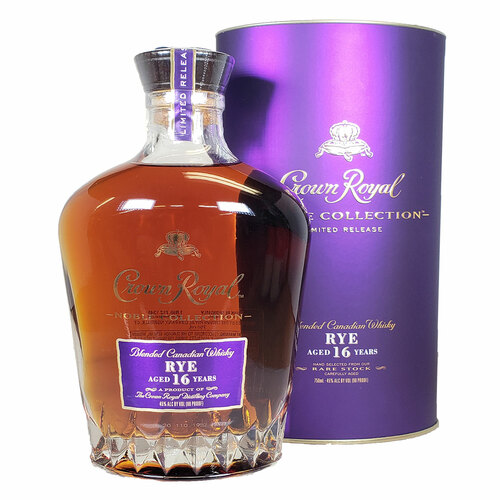 Crown Royal Rye Whisky Aged 16 Years Noble Collection