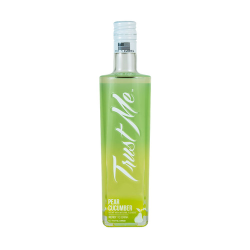 Trust Me Vodka Pear Cucumber Vodka Cocktail Ready-To-Drink 375ML