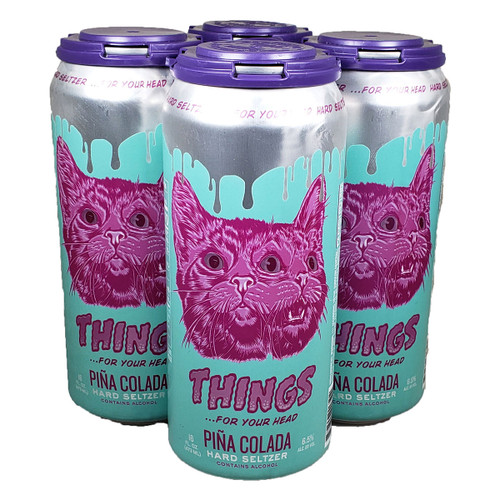 Things...for your head Pina Colada Hard Seltzer 4-Pack Can