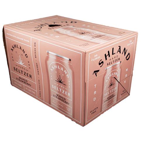 Ashland Hard Seltzer Mango-Strawberry 6-Pack Can