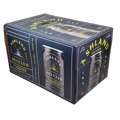 Ashland Hard Seltzer Blackberry Lemonade 6-Pack Can