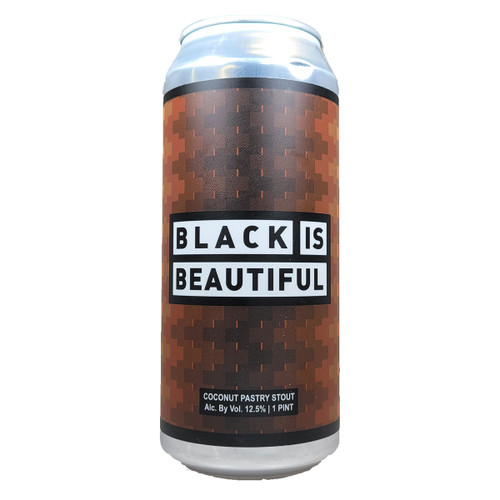 Mason Ale Works / Horus Black Is Beautiful Coconut Pastry Stout Can