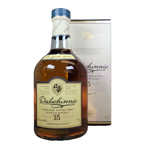 Dalwhinnie 15 Year Highland Single Malt Scotch