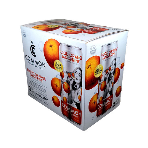 Common Cider Blood Orange Tangerine Hard Cider 6-Pack Can