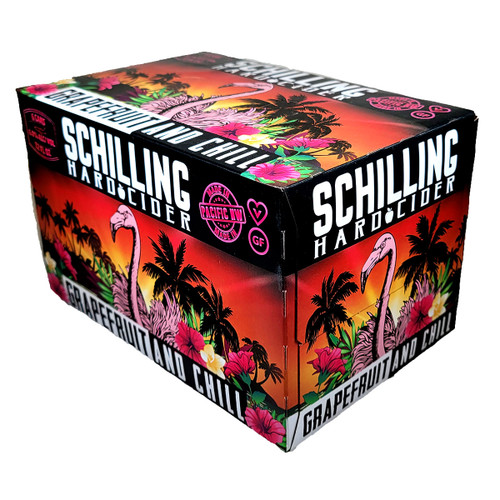 Schilling Grapefruit And Chill Hard Cider 6-Pack Can
