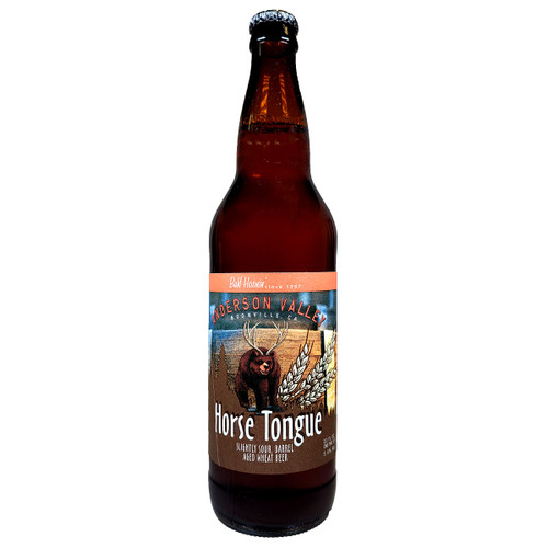 Anderson Valley Horse Tongue Wheat Beer