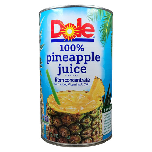 Dole Pineapple Juice Can