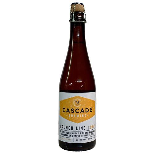 Cascade Brunch Line 2017 Sour Blonde Wheat Ale