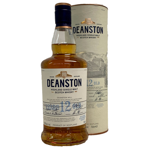 Deanston 12 Year Single Malt Highland Scotch Whisky