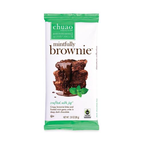 Chuao Mintfully Brownie Mini 0.39OZ Chocolate