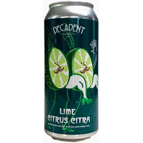 Decadent Ales Lime Citrus Citra IPA Can