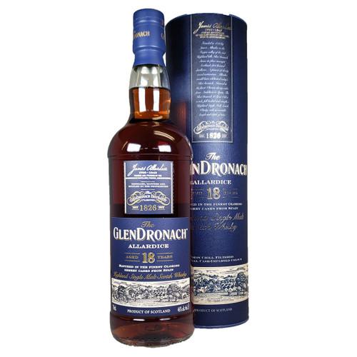 Glendronach 18 Year Highland Scotch Whisky