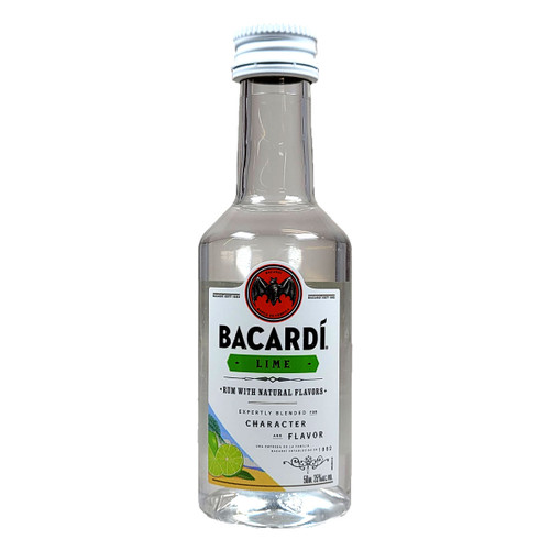 Bacardi Lime Flavored Rum 50ML