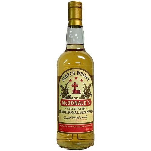 Ben Nevis McDonald Celebrated Scotch Whisky
