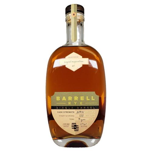 Barrell Rye 7 year Cask Strength