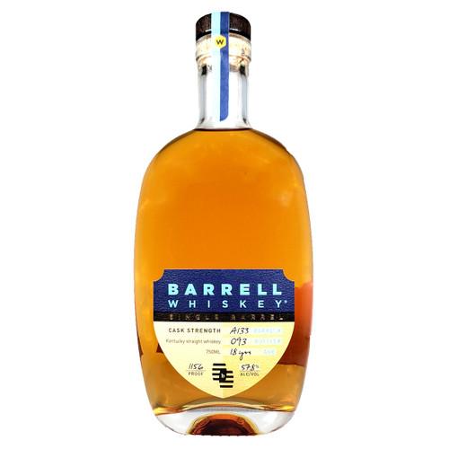 Barrell Bourbon Batch 018 Kentucky Straight Bourbon Whiskey