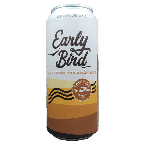 Coronado Early Bird Cold Brew Milk Stout Can