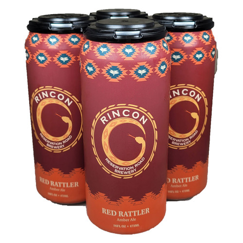 Rincon Red Rattler Amber Ale 4-Pack Can